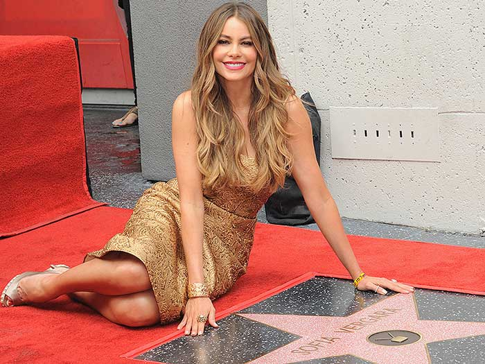 Sofia Vergara Hollywood Walk of Fame