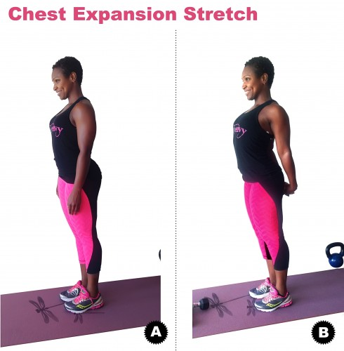 Chest Expansion Stretch