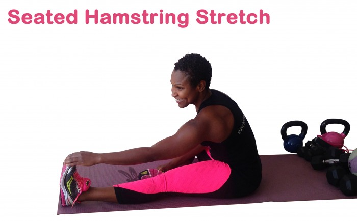 Seated Hamstring Stretch B 2