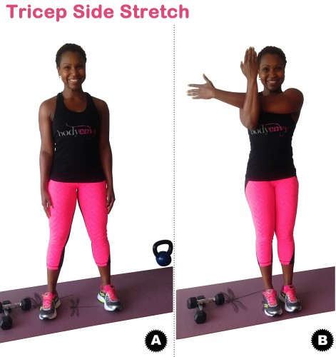 Tricep Side Stretch 2